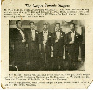 The Gospel Temple Singers