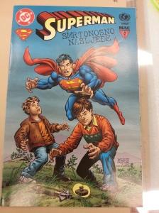 Latin Superman Comic
